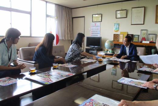 (ボラフェス)大嶋市長へ表敬訪問しました!